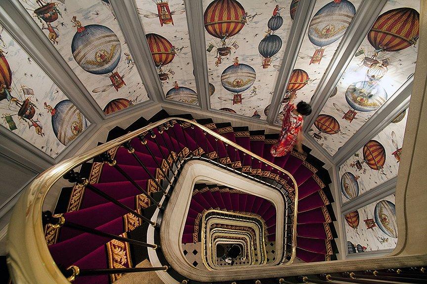 Escalier aux Singes