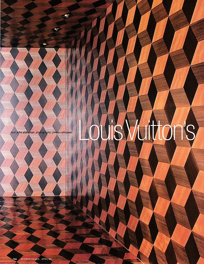 Interior Design April 2003 LV Omotesando