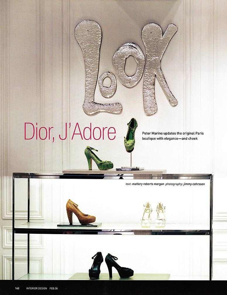 Interior Design Dior Paris 2008